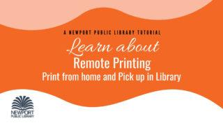 Printing from home tutorial