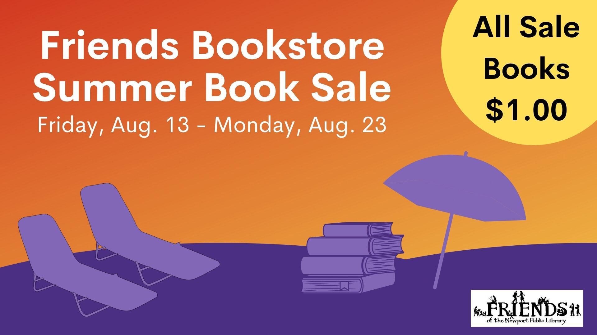 Friends Summer Book Sale
