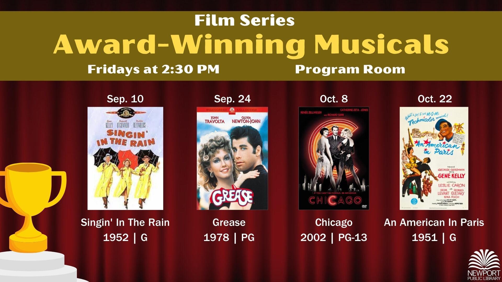 Film Series: Award-Winning Musicals