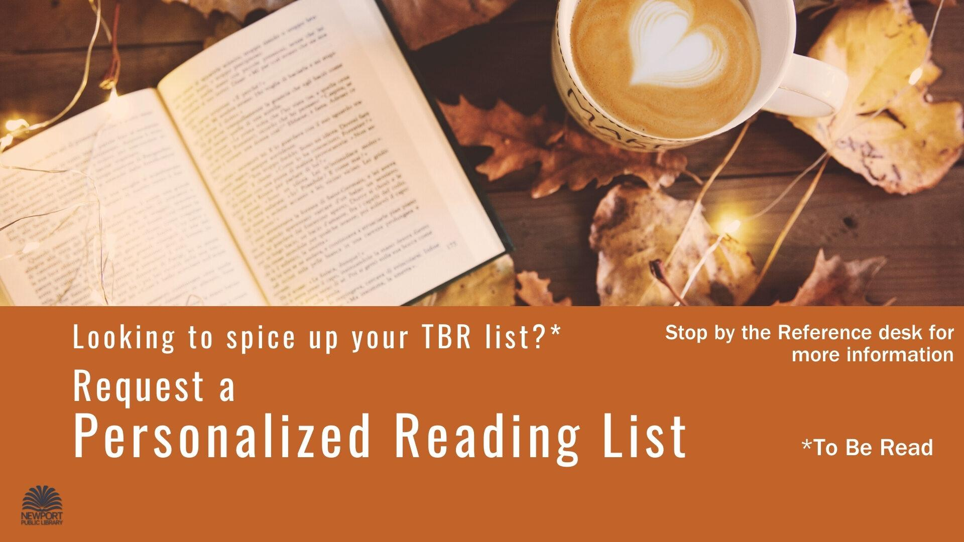 Personalized Reading Lists