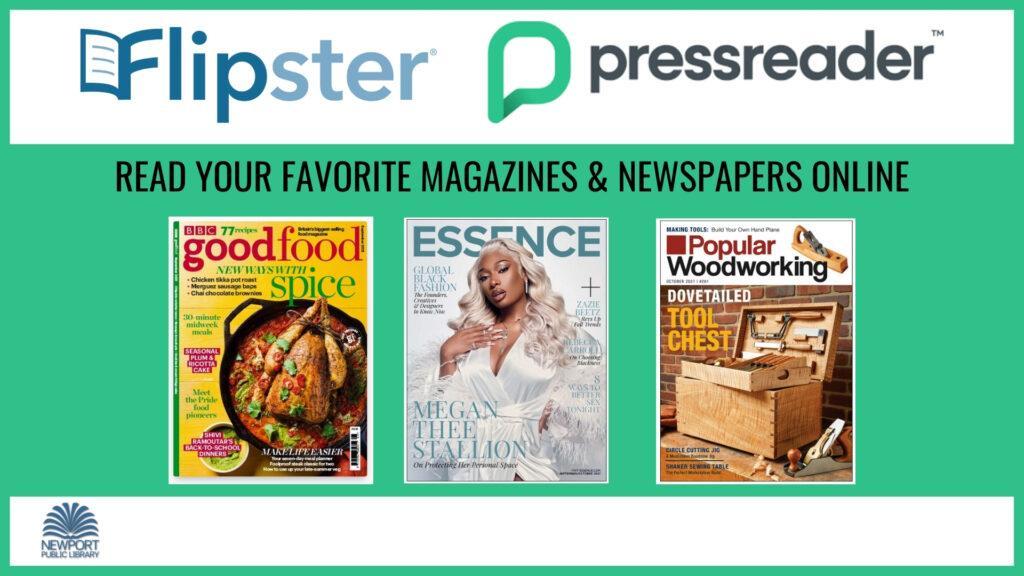 Digital magazines slide